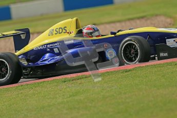 © Octane Photographic Ltd. 2012. Donington Park. Saturday 18th August 2012. Formula Renault BARC Qualifying session. Scott Malvern - Cullen Motorsport. Digital Ref : 0460cb1d2657