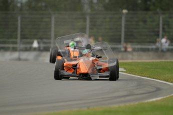 © Octane Photographic Ltd. 2012. Donington Park. Saturday 18th August 2012. Formula Renault BARC Qualifying session. Seb Morris - Fortec Motorsports. Digital Ref : 0460lw7d0824