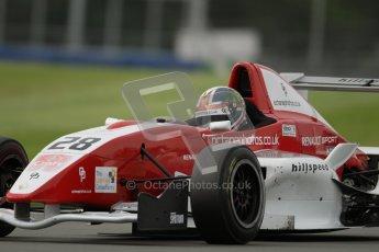 © Octane Photographic Ltd. 2012. Donington Park. Saturday 18th August 2012. Formula Renault BARC Qualifying session. Kieran Vernon - Hillspeed. Digital Ref : 0460lw7d0891