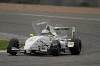 © Octane Photographic Ltd. 2012. Donington Park. Saturday 18th August 2012. Formula Renault BARC Qualifying session. David Wagner - MGR Motorsport. Digital Ref : 0460lw7d1218