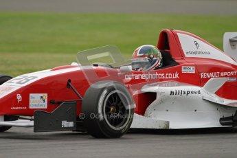 © Octane Photographic Ltd. 2012. Donington Park. Saturday 18th August 2012. Formula Renault BARC Qualifying session. Kieran Vernon - Hillspeed. Digital Ref : 0460lw7d1296