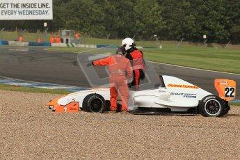 © Octane Photographic Ltd. 2012. Donington Park. Saturday 18th August 2012. Formula Renault BARC Race 1. Digital Ref : 0462cb7d0622