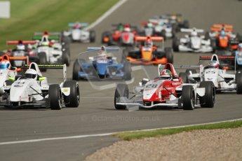 © Octane Photographic Ltd. 2012. Donington Park. Saturday 18th August 2012. Formula Renault BARC Race 1. Kieran Vernon - Hillspeed. Digital Ref : 0462lw7d1364