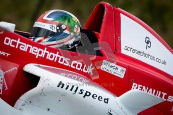 © Chris Enion/Octane Photographic Ltd. 2012. Donington Park. Sunday 19th August 2012. Formula Renault BARC Race 2. Kieran Vernon - Hillspeed. Digital Ref : 0463ce1d0210