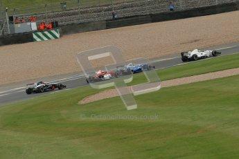 © Octane Photographic Ltd. 2012. Donington Park. Sunday 19th August 2012. Formula Renault BARC Race 2. James Fletcher - MGR Motorsport leads Macauley Walsh, Jakob Nortoft and Michael Epps. Digital Ref : 0463lw1d3322