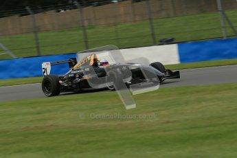 © Octane Photographic Ltd. 2012. Donington Park. Sunday 19th August 2012. Formula Renault BARC Race 2. Laura Tillett - Fortec Motorsports. Digital Ref : 0463lw1d3455