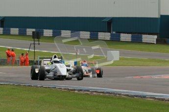 © Octane Photographic Ltd. 2012. Donington Park. Sunday 19th August 2012. Formula Renault BARC Race 2. David Wagner - MGR Motorsport. Digital Ref : 0463lw1d3489