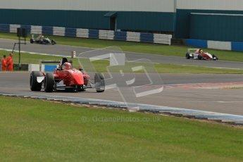 © Octane Photographic Ltd. 2012. Donington Park. Sunday 19th August 2012. Formula Renault BARC Race 2. Shahan Sarkissian - Mtech Lite Ltd. Digital Ref : 0463lw1d3540