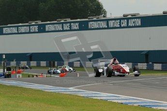 © Octane Photographic Ltd. 2012. Donington Park. Sunday 19th August 2012. Formula Renault BARC Race 2. Race Winner - Kieran Vernon - Hillspeed. Digital Ref : 0463lw1d3575