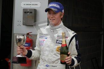 © Octane Photographic Ltd. 2012. Donington Park. Sunday 19th August 2012. Formula Renault BARC Race 2. David Wagner - MGR Motorsport. Digital Ref : 0463lw7d1831