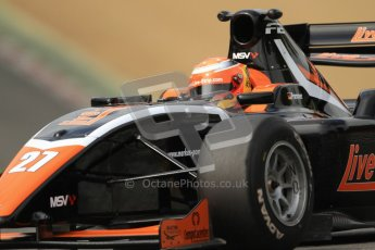 © Octane Photographic Ltd. 2012. FIA Formula 2 - Brands Hatch - Friday 13th July 2012 - Practice 2 - Markus Pommer. Digital Ref : 0402lw7d0619