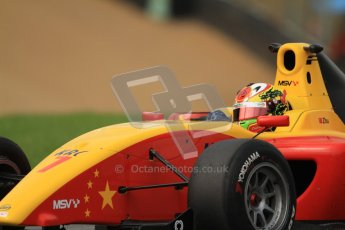 © Octane Photographic Ltd. 2012. FIA Formula 2 - Brands Hatch - Friday 13th July 2012 - Practice 2 - David Zhu. Digital Ref : 0402lw7d0922