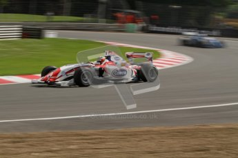 © Octane Photographic Ltd. 2012. FIA Formula 2 - Brands Hatch - Sunday 15th July 2012 - Qualifying 2 - Luciano Bacheta. Digital Ref : 0407lw7d9211