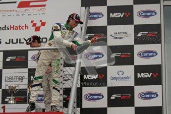 © Octane Photographic Ltd. 2012. FIA Formula 2 - Brands Hatch - Sunday 15th July 2012 - Race 2 - Mihai Marinescu. Digital Ref : 0408lw7d0244