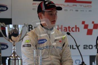 © Octane Photographic Ltd. 2012. FIA Formula 2 - Brands Hatch - Sunday 15th July 2012 - Race 2 - Christopher Zanella. Digital Ref : 0408lw7d0258