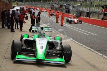 © Octane Photographic Ltd. 2012. FIA Formula 2 - Brands Hatch - Sunday 15th July 2012 - Race 2 - Mihai Marinescu. Digital Ref : 0408lw7d2597