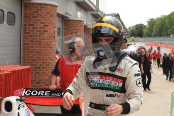 © Octane Photographic Ltd. 2012. FIA Formula 2 - Brands Hatch - Sunday 15th July 2012 - Race 2 - Dino Zamparelli. Digital Ref : 0408lw7d2646