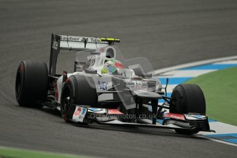 © 2012 Octane Photographic Ltd. German GP Hockenheim - Friday 20th July 2012 - F1 Practice 1. Sauber C31 - Sergio Perez. Digital Ref : 0410lw1d3603