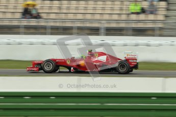 © 2012 Octane Photographic Ltd. German GP Hockenheim - Friday 20th July 2012 - F1 Practice 1. Ferrari F2012 - Felipe Massa. Digital Ref : 0410lw1d3964
