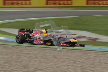 © 2012 Octane Photographic Ltd. German GP Hockenheim - Friday 20th July 2012 - F1 Practice 1. Red Bull RB8 - Mark Webber. Digital Ref : 0410lw7d0496