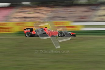 © 2012 Octane Photographic Ltd. German GP Hockenheim - Friday 20th July 2012 - F1 Practice 1. Marussia MR01 - Timo Glock. Digital Ref : 0410lw7d0659