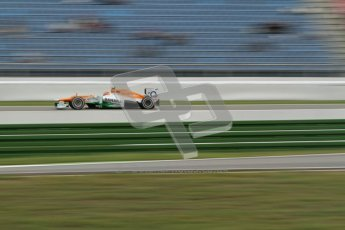 © 2012 Octane Photographic Ltd. German GP Hockenheim - Friday 20th July 2012 - F1 Practice 1. Force India VJM05 - Jules Bianchi. Digital Ref : 0410lw7d0765