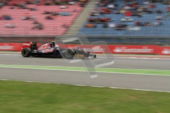 © 2012 Octane Photographic Ltd. German GP Hockenheim - Friday 20th July 2012 - F1 Practice 1. Toro Rosso STR7 - Jean-Eric Vergne. Digital Ref : 0410lw7d0924