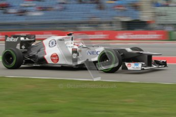 © 2012 Octane Photographic Ltd. German GP Hockenheim - Friday 20th July 2012 - F1 Practice 1. Sauber C31 - Kamui Kobayashi. Digital Ref : 0410lw7d0933