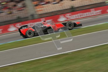 © 2012 Octane Photographic Ltd. German GP Hockenheim - Friday 20th July 2012 - F1 Practice 1. Marussia MR01 - Timo Glock. Digital Ref : 0410lw7d1071