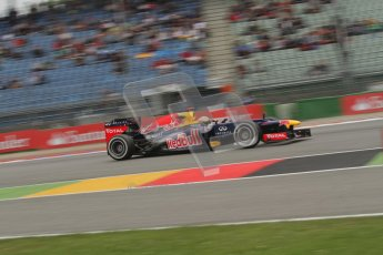 © 2012 Octane Photographic Ltd. German GP Hockenheim - Friday 20th July 2012 - F1 Practice 1. Red Bull RB8 - Sebastian Vettel. Digital Ref : 0410lw7d1130