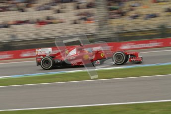 © 2012 Octane Photographic Ltd. German GP Hockenheim - Friday 20th July 2012 - F1 Practice 1. Ferrari F2012 - Fernando Alonso. Digital Ref : 0410lw7d1143