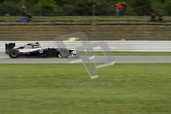 © 2012 Octane Photographic Ltd. German GP Hockenheim - Friday 20th July 2012 - F1 Practice 2. Williams FW34 - Pastor Maldonado. Digital Ref :