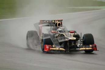 © 2012 Octane Photographic Ltd. German GP Hockenheim - Friday 20th July 2012 - F1 Practice 2. Lotus E20 - Kimi Raikkonen. Digital Ref : 0411lw7d5454