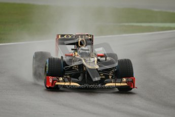 © 2012 Octane Photographic Ltd. German GP Hockenheim - Friday 20th July 2012 - F1 Practice 2. Lotus E20 - Kimi Raikkonen. Digital Ref : 0411lw7d5522