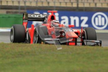 © 2012 Octane Photographic Ltd. German GP Hockenheim - Friday 20th July 2012 - GP2 Practice 1 - Carlin - Max Chilton. Digital Ref : 0412lw7d4562