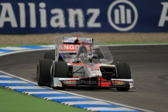 © 2012 Octane Photographic Ltd. German GP Hockenheim - Friday 20th July 2012 - GP2 Practice 1 - Rapax - Tom Dillmann. Digital Ref : 0412lw7d4731