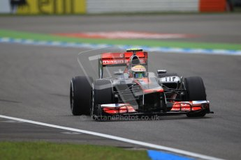 © 2012 Octane Photographic Ltd. German GP Hockenheim - Saturday 21st July 2012 - F1 Qualifying session 1. McLaren MP4/27 - Lewis Hamilton. Digital Ref : 0417lw1d3248
