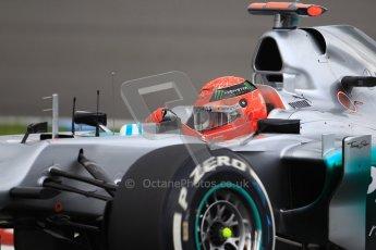 © 2012 Octane Photographic Ltd. German GP Hockenheim - Saturday 21st July 2012 - F1 Qualifying. Mercedes W03 - Michael Schumacher. Digital Ref : 0417lw1d3557