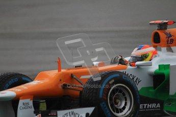 © 2012 Octane Photographic Ltd. German GP Hockenheim - Saturday 21st July 2012 - F1 Qualifying. Force India VJM05 - Paul di Resta. Digital Ref : 0417lw1d3740