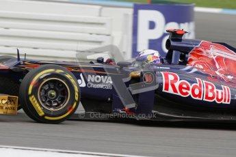 © 2012 Octane Photographic Ltd. German GP Hockenheim - Saturday 21st July 2012 - F1 Qualifying session 2. Toro Rosso STR7 - Daniel Ricciardo. Digital Ref : 0417lw7d7845