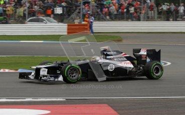 © 2012 Octane Photographic Ltd. German GP Hockenheim - Saturday 21st July 2012 - F1 Qualifying. Williams FW34 - Pastor Maldonado. Digital Ref : 0417lw7d7913
