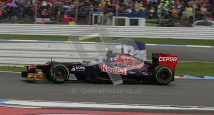 © 2012 Octane Photographic Ltd. German GP Hockenheim - Saturday 21st July 2012 - F1 Qualifying. Toro Rosso STR7 - Daniel Ricciardo. Digital Ref : 0417lw7d7925