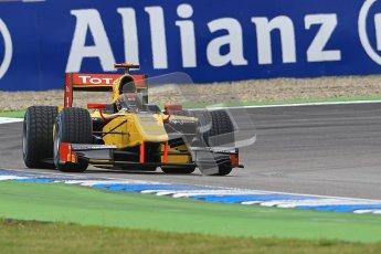 © 2012 Octane Photographic Ltd. German GP Hockenheim - Saturday 21st July 2012 - GP2 Race 1 - Dams - Davide Valsecchi. Digital Ref : 0419lw1d4042