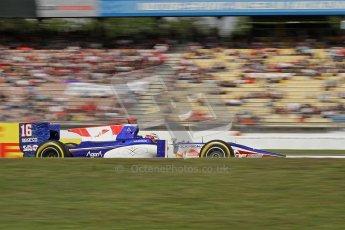 2012 Octane Photographic Ltd. German GP Hockenheim - Saturday 21st July 2012 - GP2 Race 1 - Trident Racing - Stephane Richelmi. Digital Ref : 0419lw7d8160