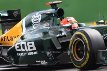 © 2012 Octane Photographic Ltd. German GP Hockenheim - Saturday 21st July 2012 - F1 Practice 3. Caterham CT01 - Heikki Kovalainen. Digital Ref : 0416lw1d2469