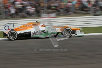 © 2012 Octane Photographic Ltd. German GP Hockenheim - Saturday 21st July 2012 - F1 Practice 3. Force India VJM05 - Nico Hulkenberg. Digital Ref : 0416lw7d6481