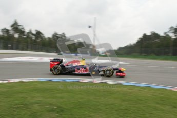 © 2012 Octane Photographic Ltd. German GP Hockenheim - Saturday 21st July 2012 - F1 Practice 3. Red Bull RB8 - Mark Webber. Digital Ref : 0416lw7d7446