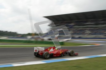 © 2012 Octane Photographic Ltd. German GP Hockenheim - Saturday 21st July 2012 - F1 Practice 3. Ferrari F2012 - Felipe Massa. Digital Ref : 0416lw7d7580