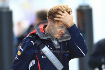 © 2012 Octane Photographic Ltd. German GP Hockenheim - Sunday 22nd July 2012 - F1 Raceday paddock. Red Bull RB8 - Sebastian Vettel. Digital Ref : 0422lw1d4773