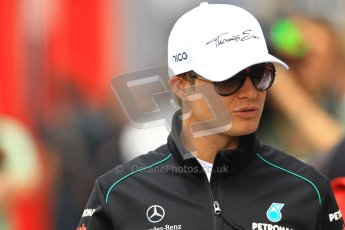 © 2012 Octane Photographic Ltd. German GP Hockenheim - Sunday 22nd July 2012 - F1 Raceday paddock. Mercedes W03 - Nico Rosberg. Digital Ref : 0422lw1d4815